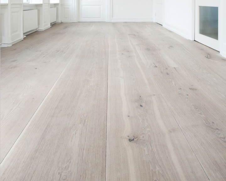 Lichte houten vloer