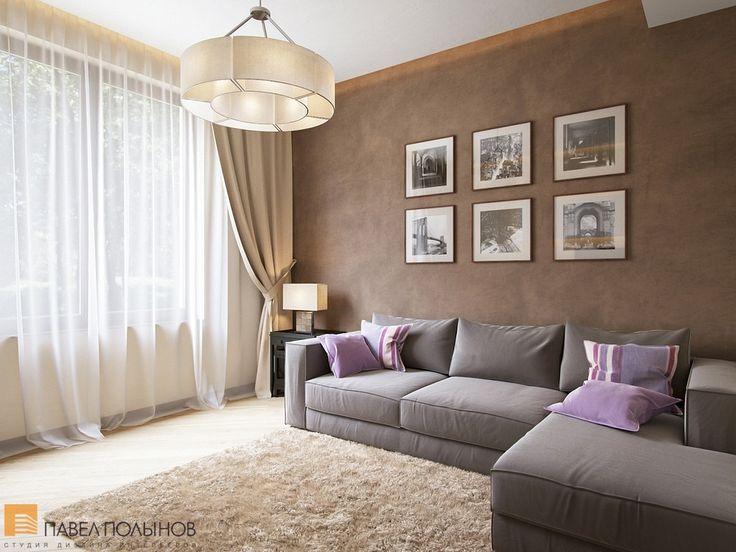 Гостевая комната с серым диваном / living room / living room paint / living room decor / living room interior design / #design #interior #homedecor #interiordesign