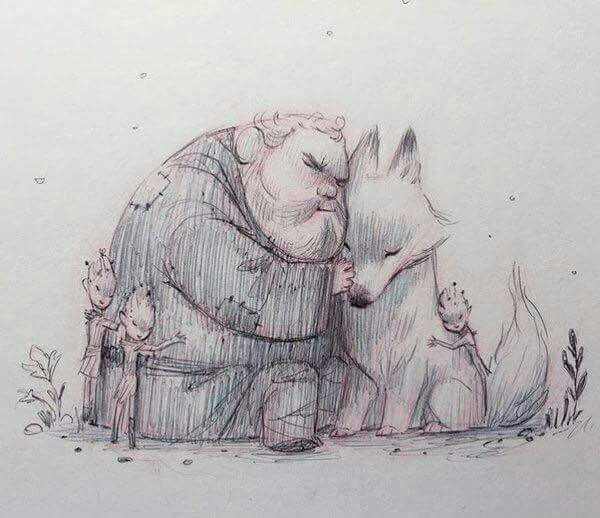 Hodor, Summer & The Children Of The Forest // Game Of Thrones