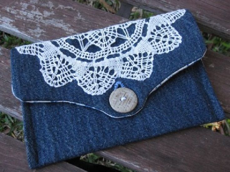 Top 10 Things To Do With Old Jeans. Everyone has old jeans they no longer wear. Here are great ideas on how to transform them to useful objects.
