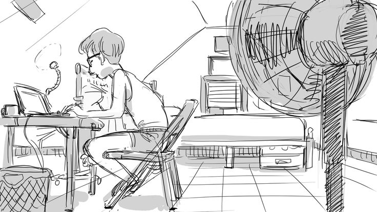 My room / 2016 #doole #art #drawing #sketch