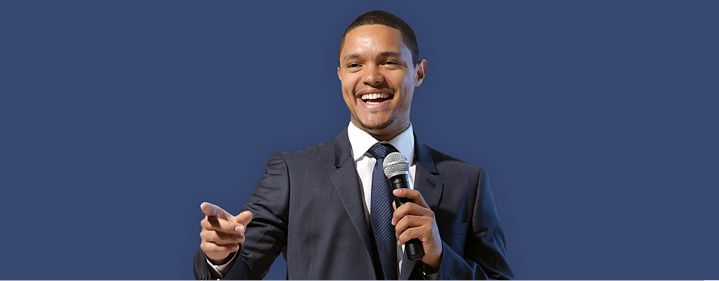 ;-) exciting! Trevor Noah - Concert Hall, QPAC, Brisbane - Tickets & Dining Packages