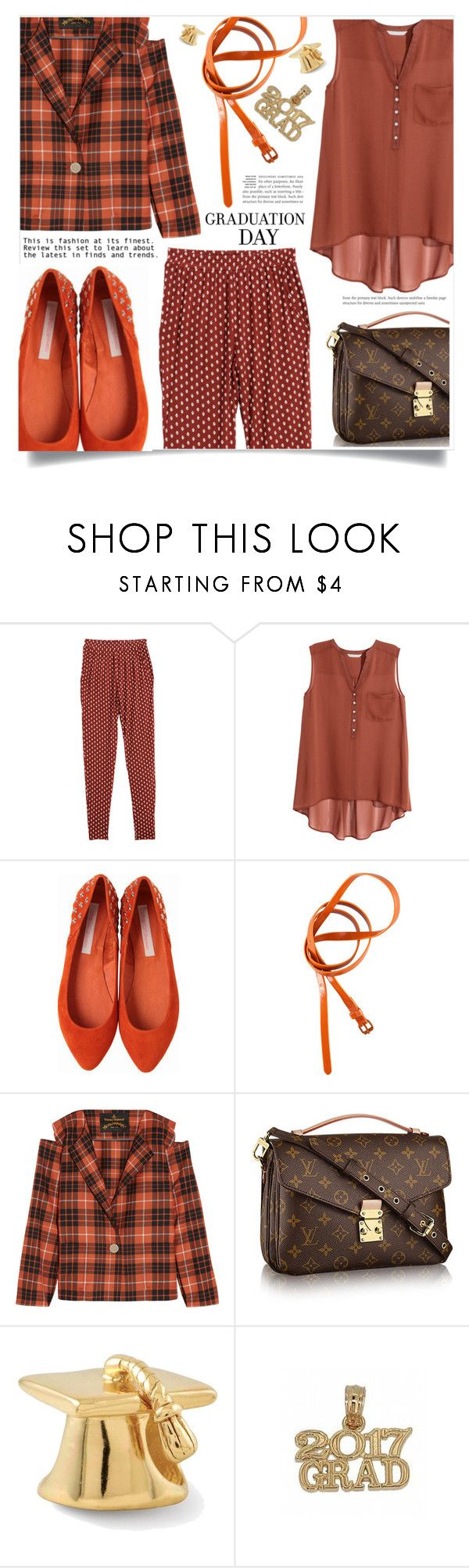 """Congrats, Grad: Graduation Day Style"" by dolly-valkyrie ❤ liked on Polyvore featuring H&M, Charlotte Ronson, Vivienne Westwood Anglomania and Graduation"
