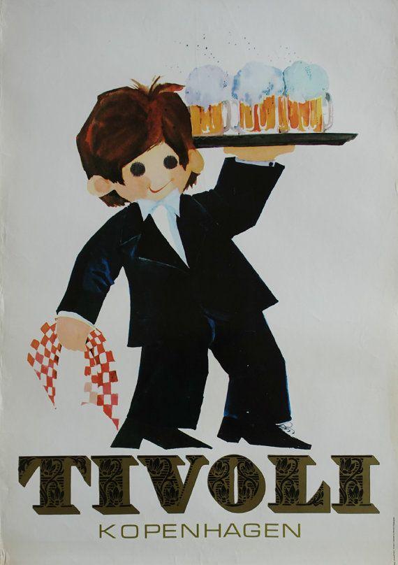 1972 Tivoli Gardens by Richardt Branderup 4th by OutofCopenhagen