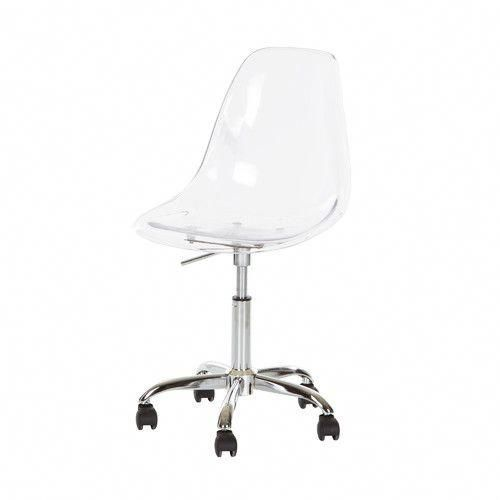 Acrylic Desk Chair With Cushion Outdoor Accessories Found It At Allmodern Office Modernofficechairs