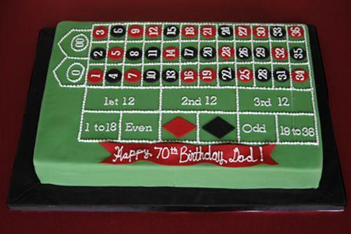 Awesome Las Vegas Cake