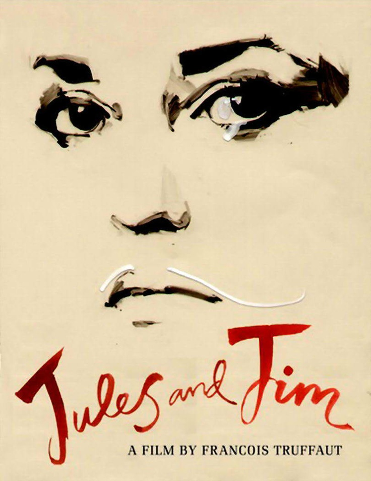 Jules et Jim, an insane masterpiece in my opinion. Two friends and one girl in a relationship. Long shots, French backdrop, my favorite by françois truffaut.