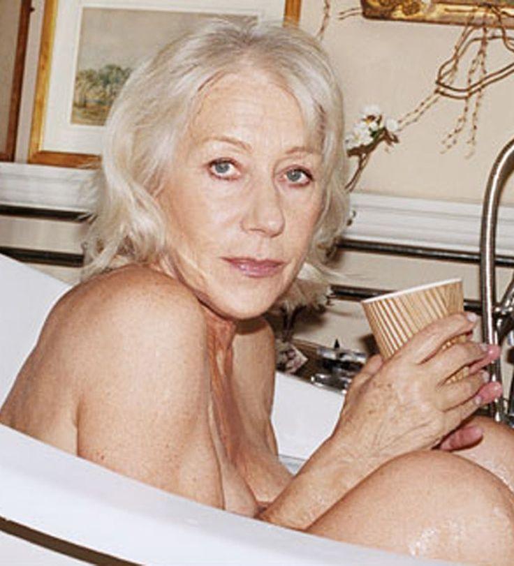 nude ladies in the bath tub