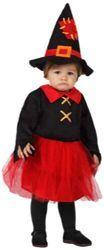 ¡Abracadabra! Vestido de bruja para bebé de 6 a 12 meses