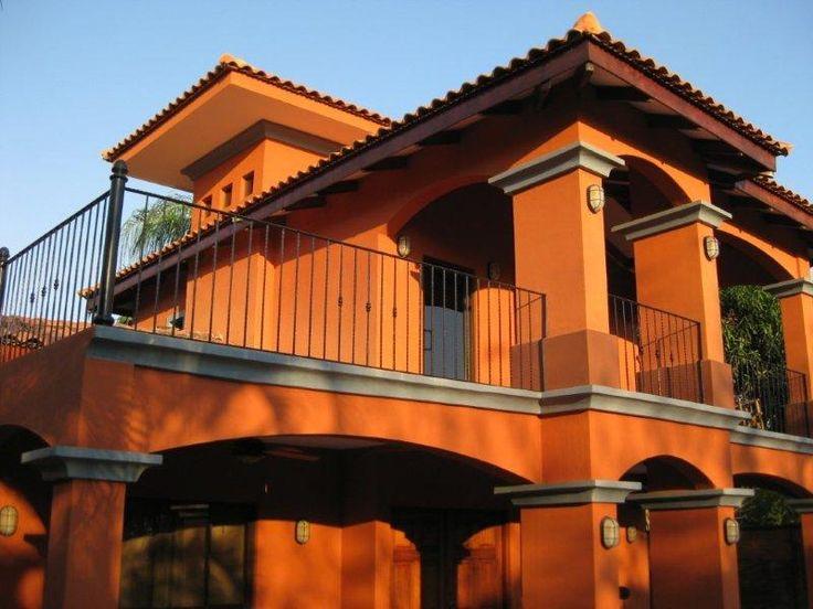 Tonos de naranja ideas de inspiraci n pinterest casa for Ideas para pintar frentes de casas