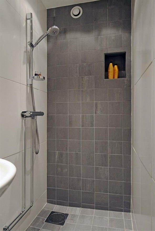 Impressive Soft Bathroom Scandinavian Apartment Interior Design - GiesenDesign