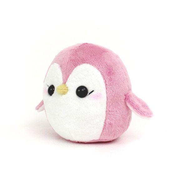 PDF sewing pattern  Penguin stuffed animal  easy by TeacupLion