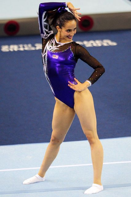 Why People Are Freaking Out Over This Gymnast's Uniform #refinery29  http://www.refinery29.com/2015/06/89463/farah-ann-abdul-hadi-gymnastics-leotard-controversy