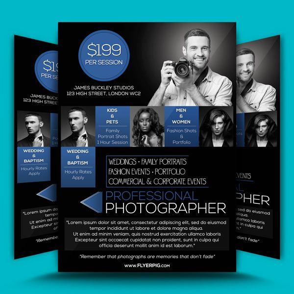 Photographer 1 Flyer Template