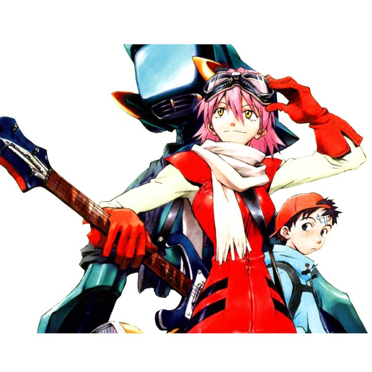 reader//watcher [girl]: [Anime of the Week] FLCL (2/13-19/2011)