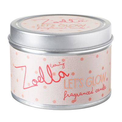 Zoella Beauty Let's Glow Fragranced Candle | the perfect bath side candle, dreaming of baths with this lit.