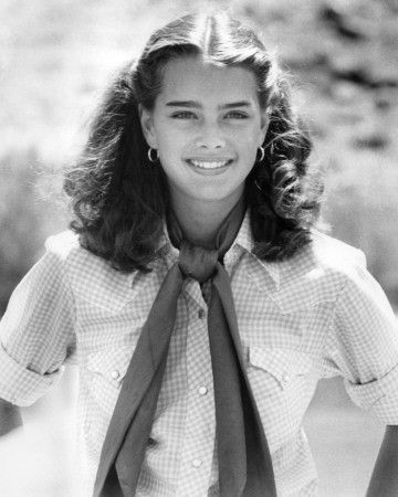 Brooke Shields-Probably one of the most beautiful women. Ever.