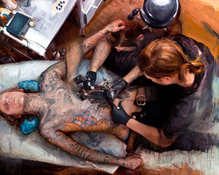 Shawn Barber. Tattooed Portraits.