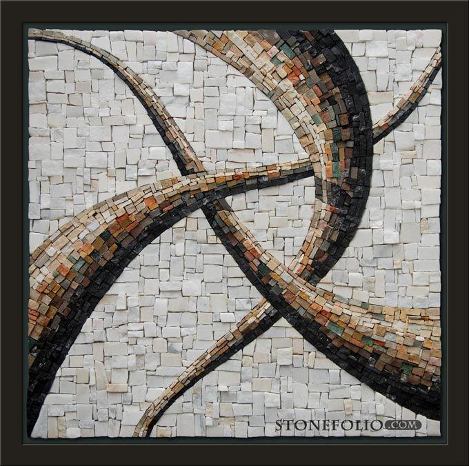Roberto Centazzo - STONE FOLIO MOSAICS - Abstracts