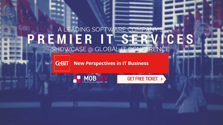 iMOBDEV to showcase its Premier #iOS & #Android Solutions at #CeBIT 2016