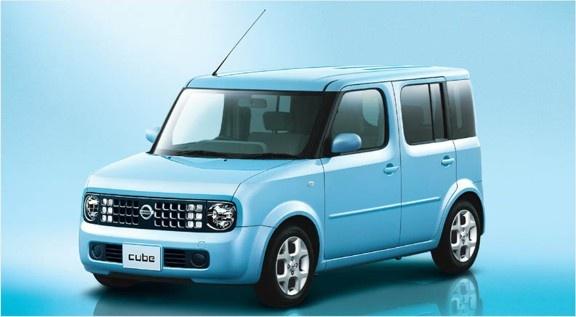 Own a blue cube car. They're cute♥