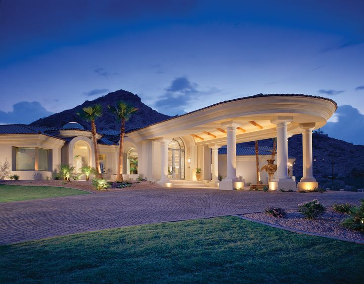 John b scholz architect inc desert palace my style for Palace design homes