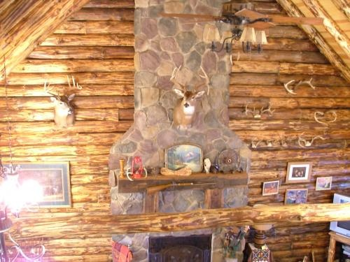 Log Cabin Man Cave Ideas : Basement log cabins pinterest caves fireplaces and