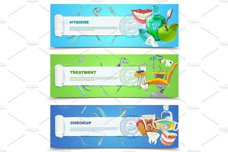 Dentist Cartoon Set - Illustrations - 4