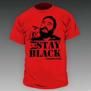 "Joey Diaz ""Stay Black"" shirt"