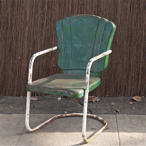 199 Best Images About Metal Chairs On Pinterest Patio Tables Metal Lawn Ch