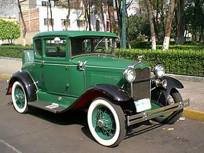 1931 Ford Model A Coupe. This is a very fine restoration. I would be proud to own this. WFH.