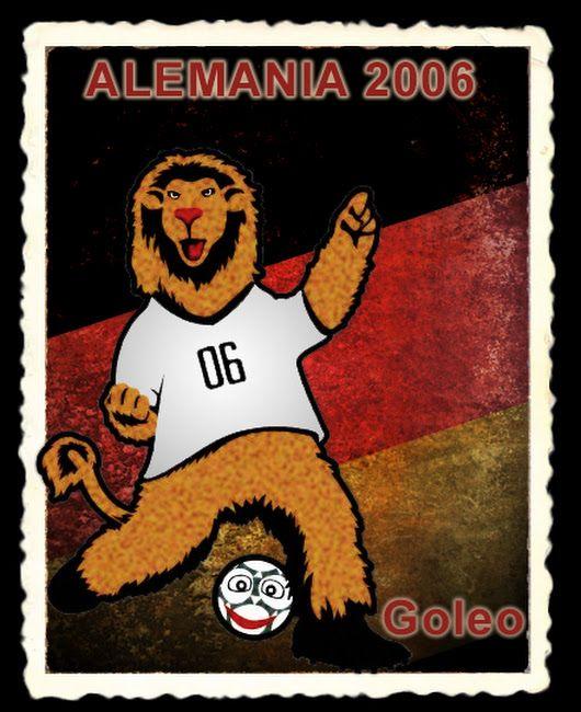 Goleo fue la mascota de la Copa Mundial de Fútbol Alemania 2006. Él es un  león que viste una camiseta blanca con los números 06 f1e6812c8b0d0