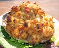 "Recipes: Stuffies   Stuffie from Matunuck Oyster Bar, South Kingstown. A stuffed clam, known colloquially as a ""stuffie,"" is generally bread stuffing mixed with chopped clam meat and baked in a clam shell. Pretty simple, but recipes can vary quite a bit in their ingredients and preparation. Included below are enough variations to satisfy every taste."
