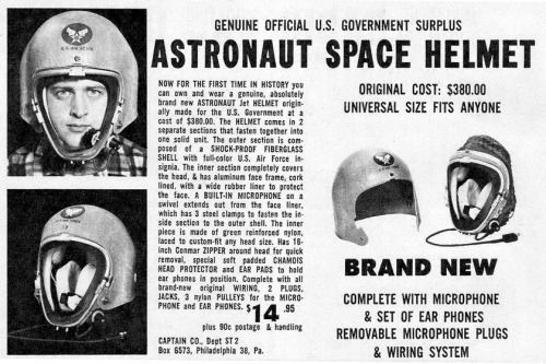 Just like the astronauts wear.  One size fits ll.