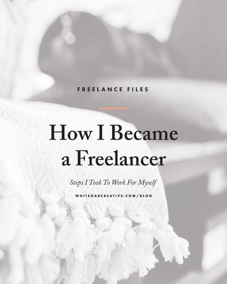 Steps I took to becoming a freelance designer and entrepreneur