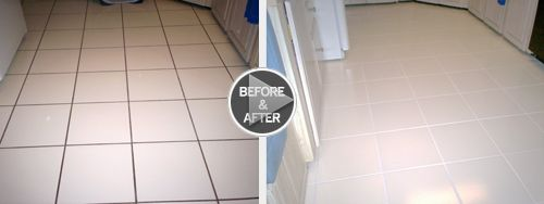 Clean, Re Color, and Seal Grout with Grout Colorant Grout Stain
