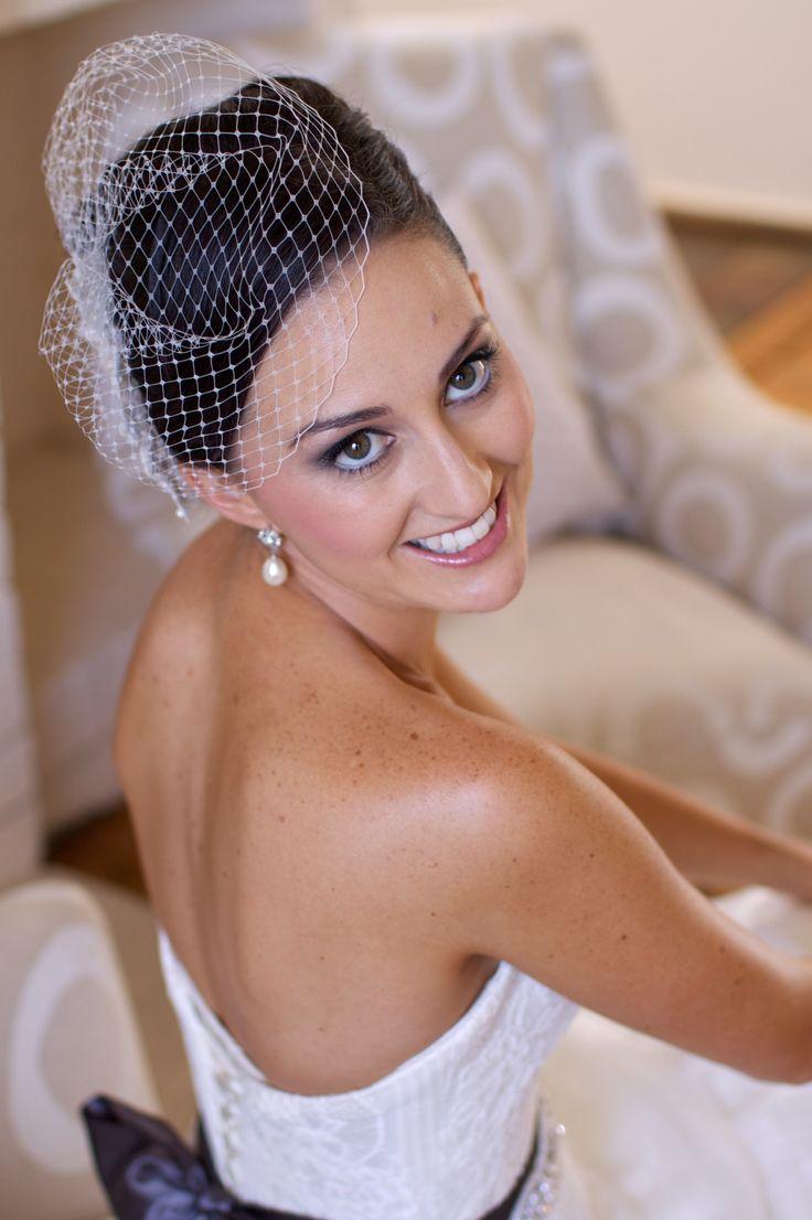Real Bride - bella figlia images, bird cage veil, bride, samantha wills, minx makup, martina liana, shellarn design