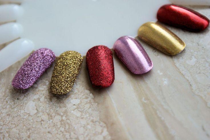 Mermaid Chrome – nowe metaliczne pyłki Nails Company