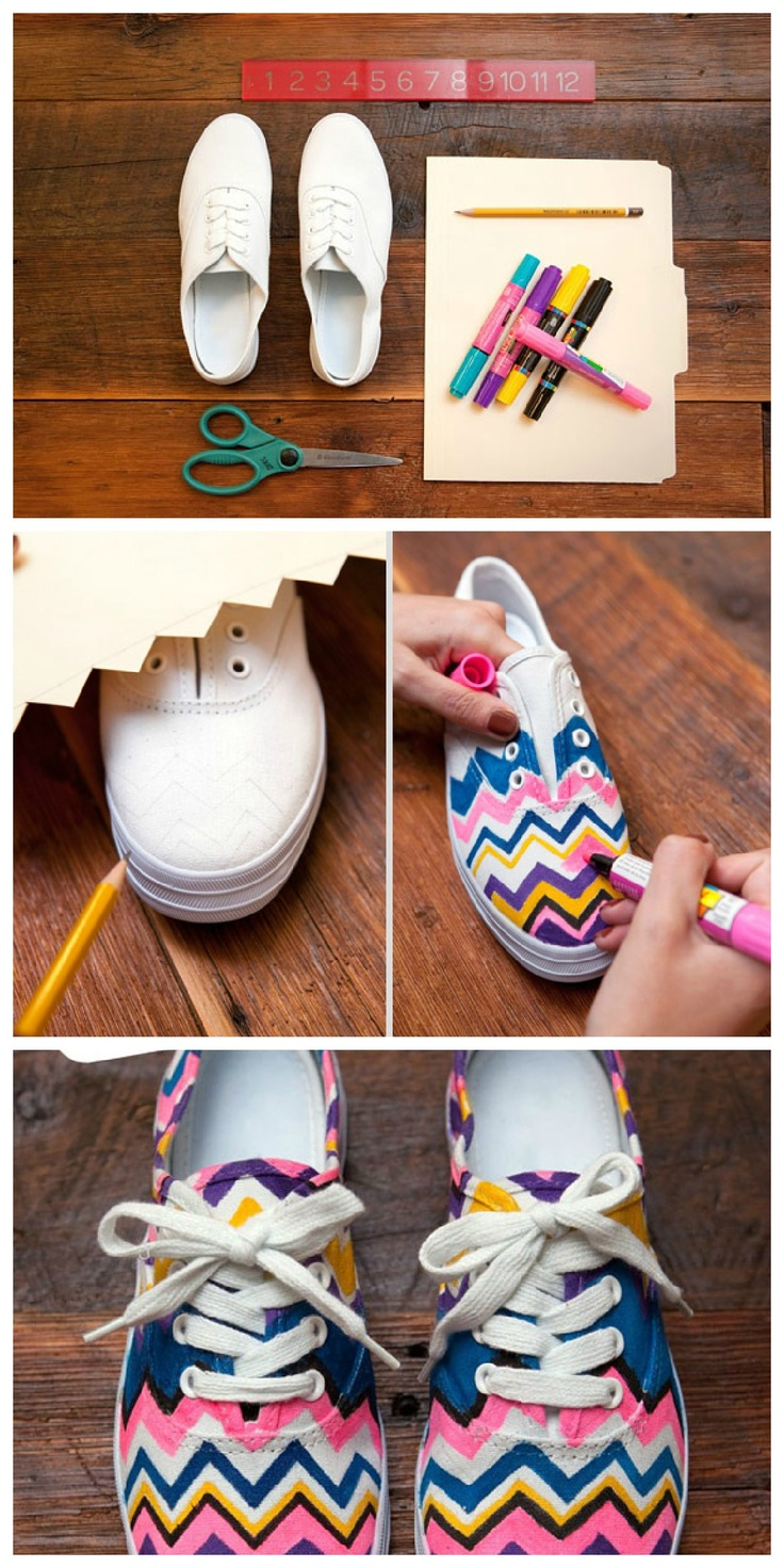 Make an unforgettable shoes