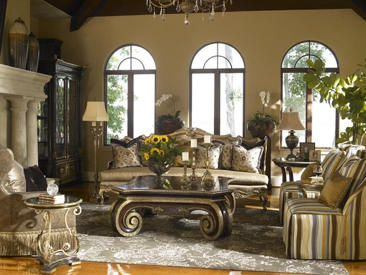 Marge Carson Living Room J Douglas Design Pinterest