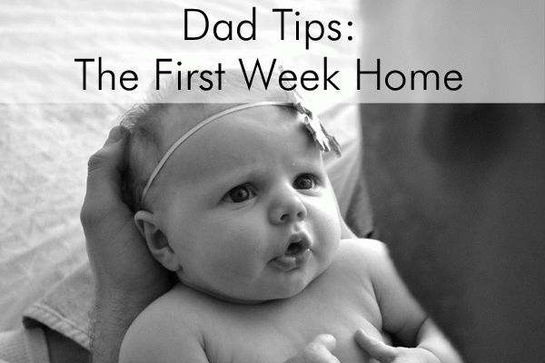 Dad's need some info, too! We have Dad Tips for the First Week Home on the blog today from a real life first-time dad!!! Just give it to the hubby's, ladies.