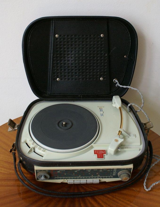 Teppaz modèle Tourist radio