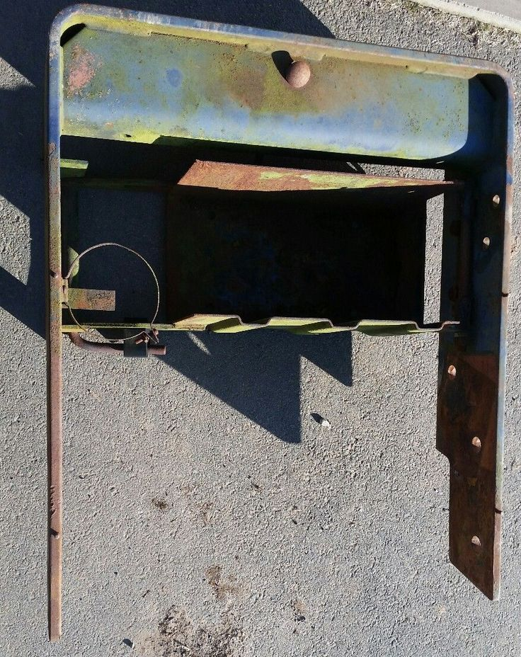 Leyland Nuffield Marshall tractor weight frame, front carrier. Battery box. | eBay
