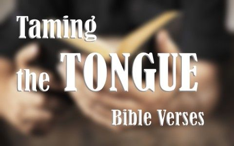 7 Good Bible Verses About Taming The Tongue