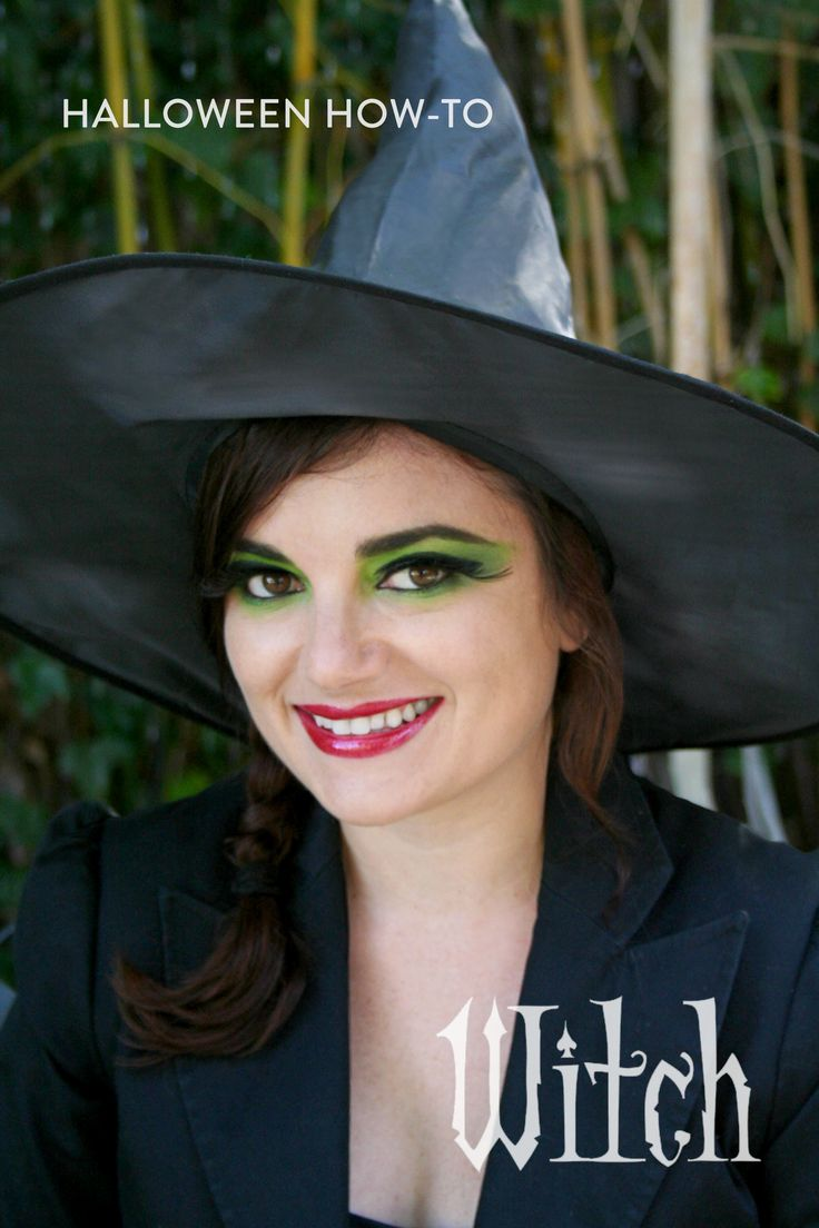 Easy Witch Makeup for Halloween