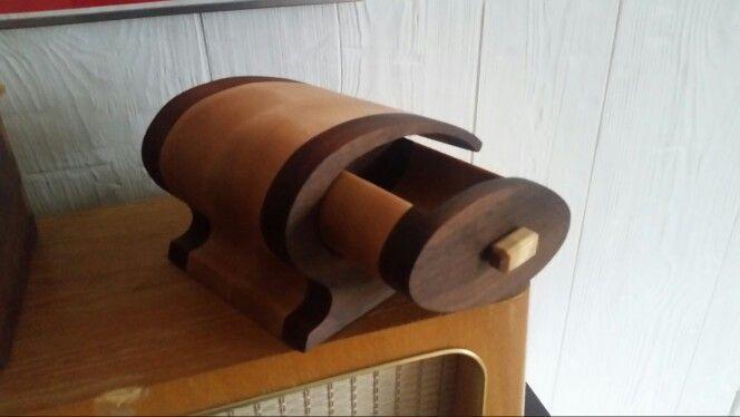 Bandsaw box... wallnut and birch.
