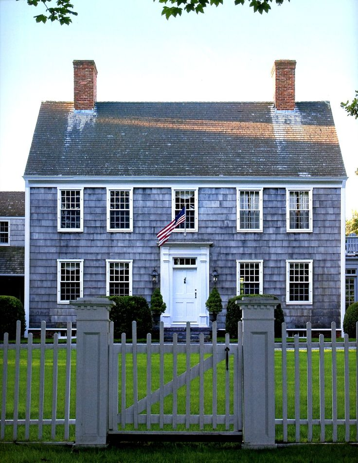 524 Best Images About Saltbox Colonial Houses On Pinterest
