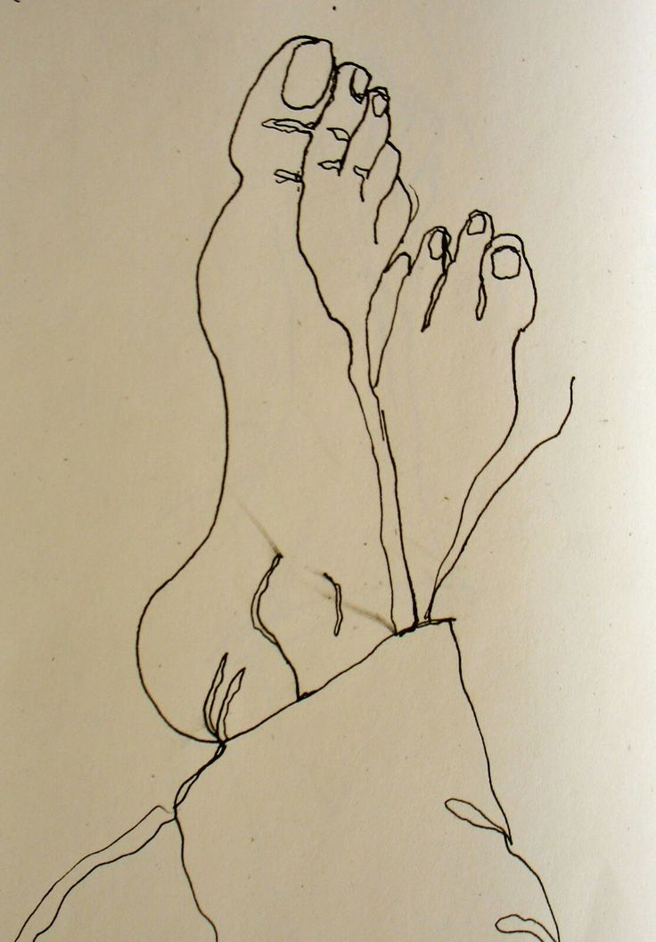 Contour Line Drawing Xp : Best male feet ideas on pinterest hands