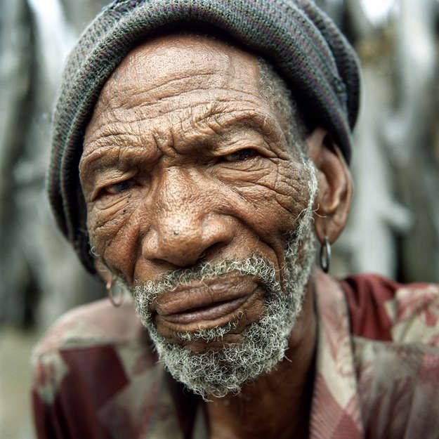 The Bushmen are the indigenous peoples of southern Africa. Largely hunter-gatherers, they have lived in the region for 70,000 years, or more.    After diamonds were discovered in the reserve in the 1980s, the Botswana government forcibly evicted the country's oldest inhabitants.    In 2006, the acclaimed photo-journalist Dominick Tyler spent time in New Xade, one of the eviction camps, and was with a convoy of Bushmen when they journeyed home to the reserve.