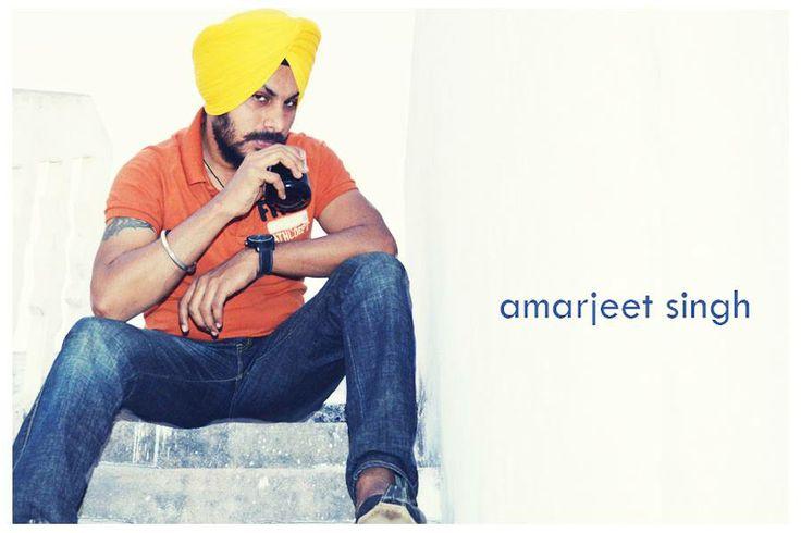 Yellow Turban Sikh